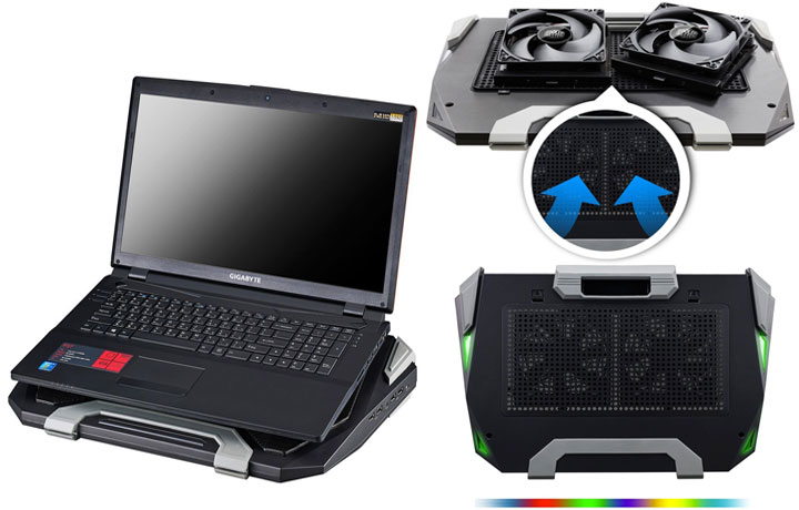 unique usb coolers to keep laptops from overheating everything usb. Black Bedroom Furniture Sets. Home Design Ideas