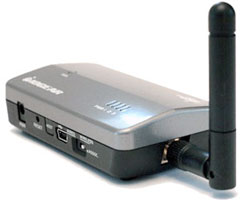 Remote wireless video adapter