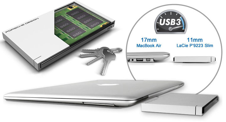 LaCie Porsche Design USB 3.0 SSD Boasts 400MB/s | Everything USB