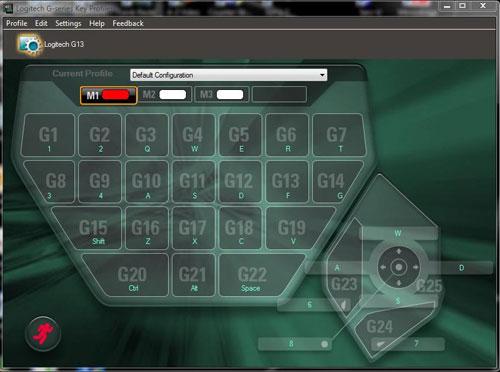 logitech g13 gamepanel software