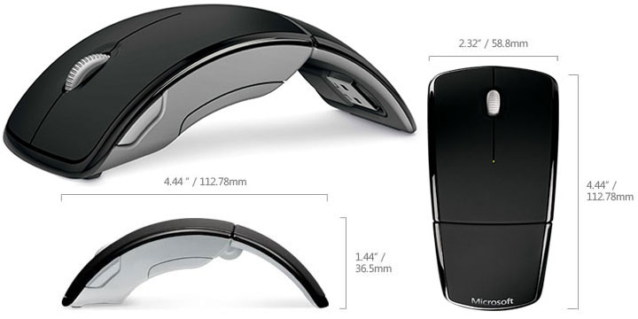 Microsoft Arc Mouse Review | Everything USB