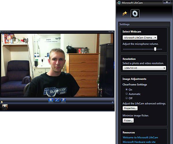 how to play back windows webcam