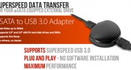 A USB 3.0 to eSATA Adapter Fast Enough to Handle Speedy Drives