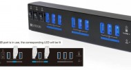 Satechi's Heavy-duty 10-port USB 3.0 Hub Wins the Day
