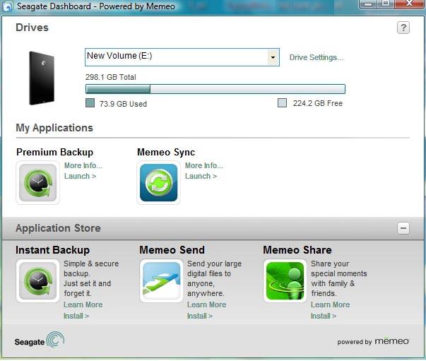 Seagate dashboard download goflex home.