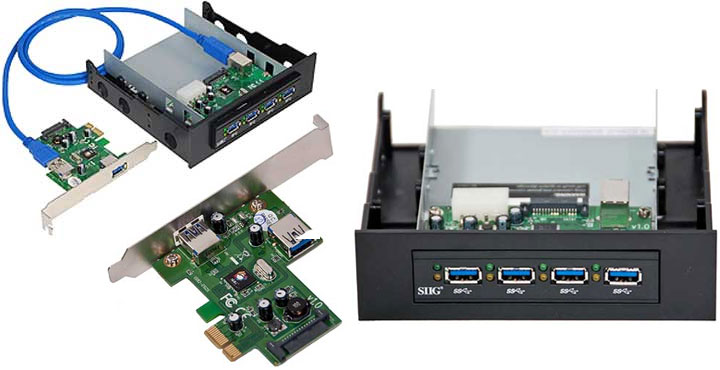 Siig usb 3 0 card bay hub kit review everything usb - Can a usb 3 0 be used in a 2 0 port ...