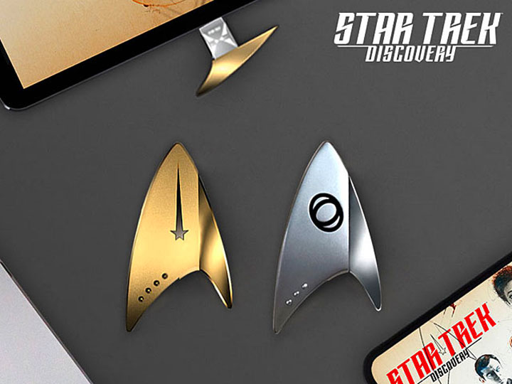 Star Trek Discovery Inspired Badges