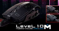 Thermaltake Level 10 M Gaming Mouse Goes Hybrid